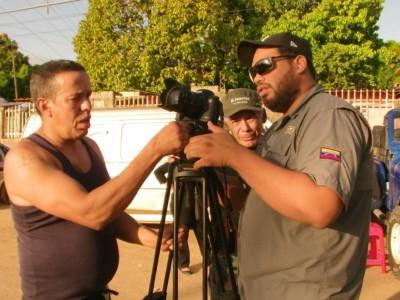 Juan Vicente Nuñez grabación cortometraje