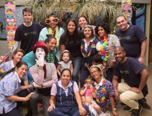 +MEGA GALERÍA | Fundasitio llevó alegría a los niños de la escuela Josefa Camejo en El Llanito