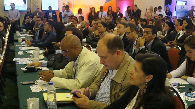 Rafael Nuñez Aponte- Fundasitio presente en el Infosecurity