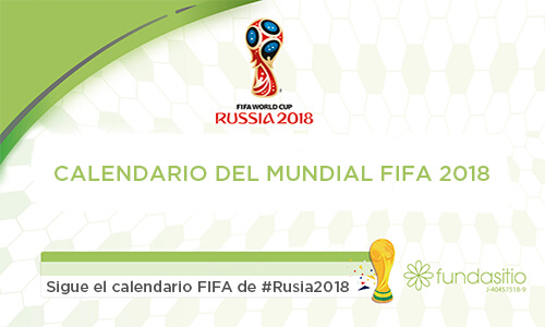 Calendario del Mundial FIFA 2018